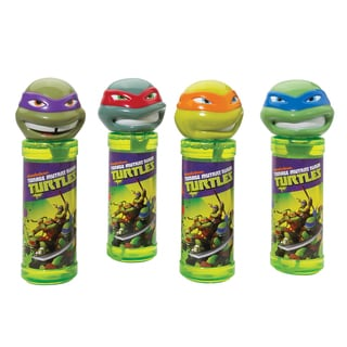 Teenage Mutant Ninja Turtles Bottles of Bubbles, 4 Pack