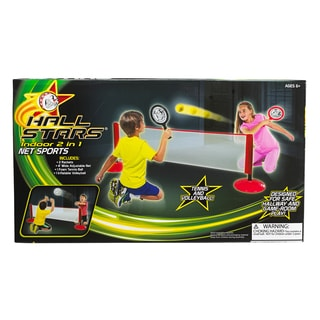 Hall Stars 2-in-1 Sports, Tennis and Volleyball