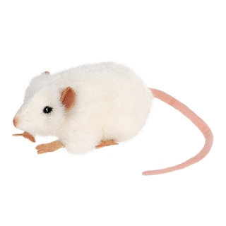 Hansa 5 Inch White Mouse