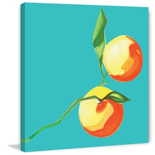 Marmont Hill - 'Clementines' by Molly Rosner Painting Print on Wrapped Canvas