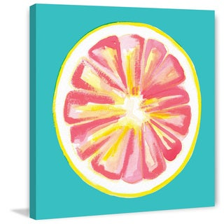 Marmont Hill - 'Grapefruit' by Molly Rosner Painting Print on Wrapped Canvas