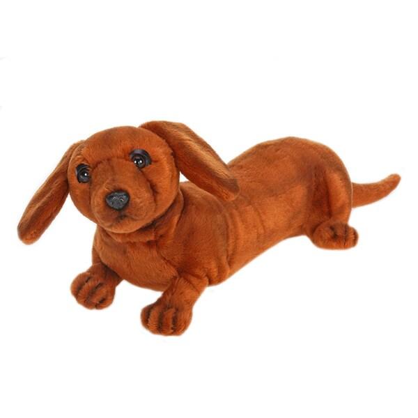 Hansa 12 Inch Dachshund Puppy