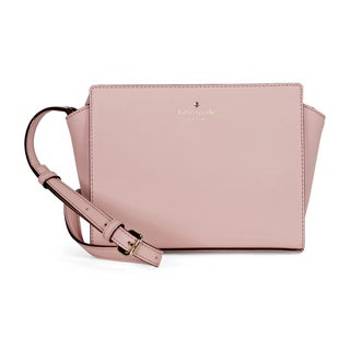 Kate Spade New York Cedar Street Hayden Pink Bonnet Leather Crossbody Handbag