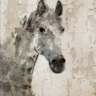 Marmont Hill - 'Glaeta Horse' by Irena Orlov Painting Print on Wrapped Canvas
