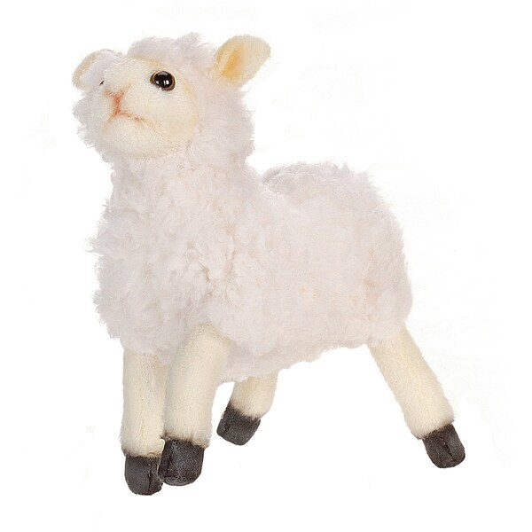 Hansa 7 Inch Cream Little Lamb