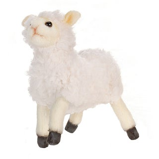 Hansa 7 Inch Cream Little Lamb