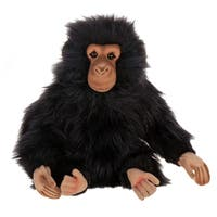 Hansa 9 Inch Junior Chimp - Brown