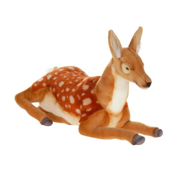 Hansa 24 Inch Deer Lying Down Bambi