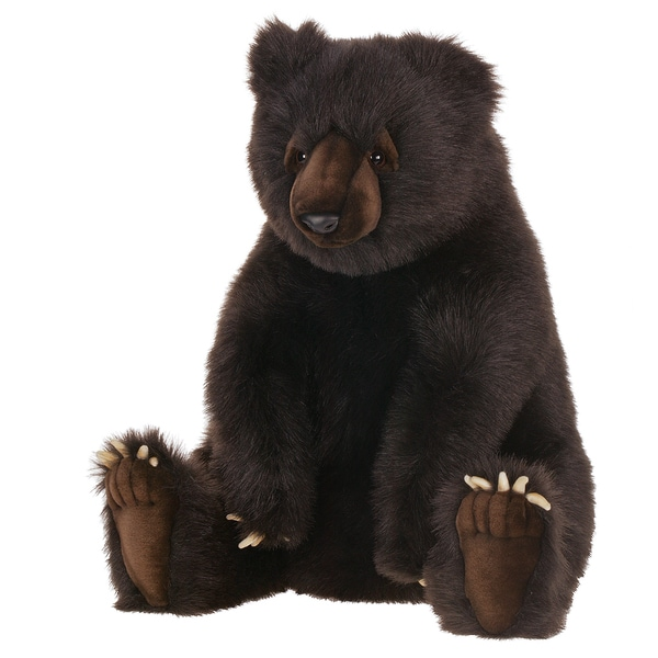 Shop Hansa 24 Inch Brown Bear Free Shipping Today