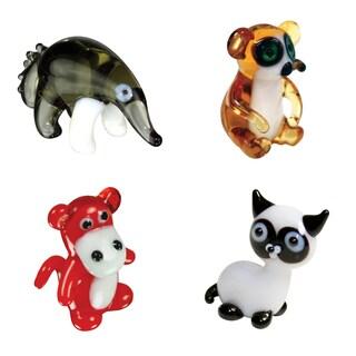 Looking Glass AntEater, Lemur, Baboon, Cat Set