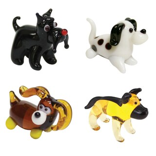 Looking Glass 4-Pack Dog Display Set