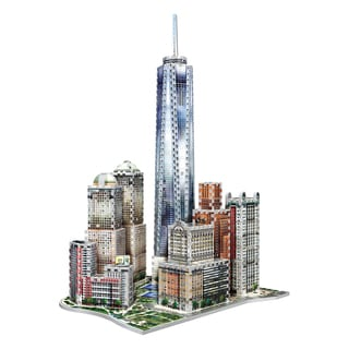 Wrebbit New York World Trade 3D Puzzle