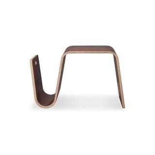 Kardiel Scando Walnut Wood Plywood Mid-century Modern Side Table