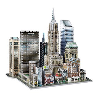 Wrebbit 2010 Midtown East New York 3D Puzzle