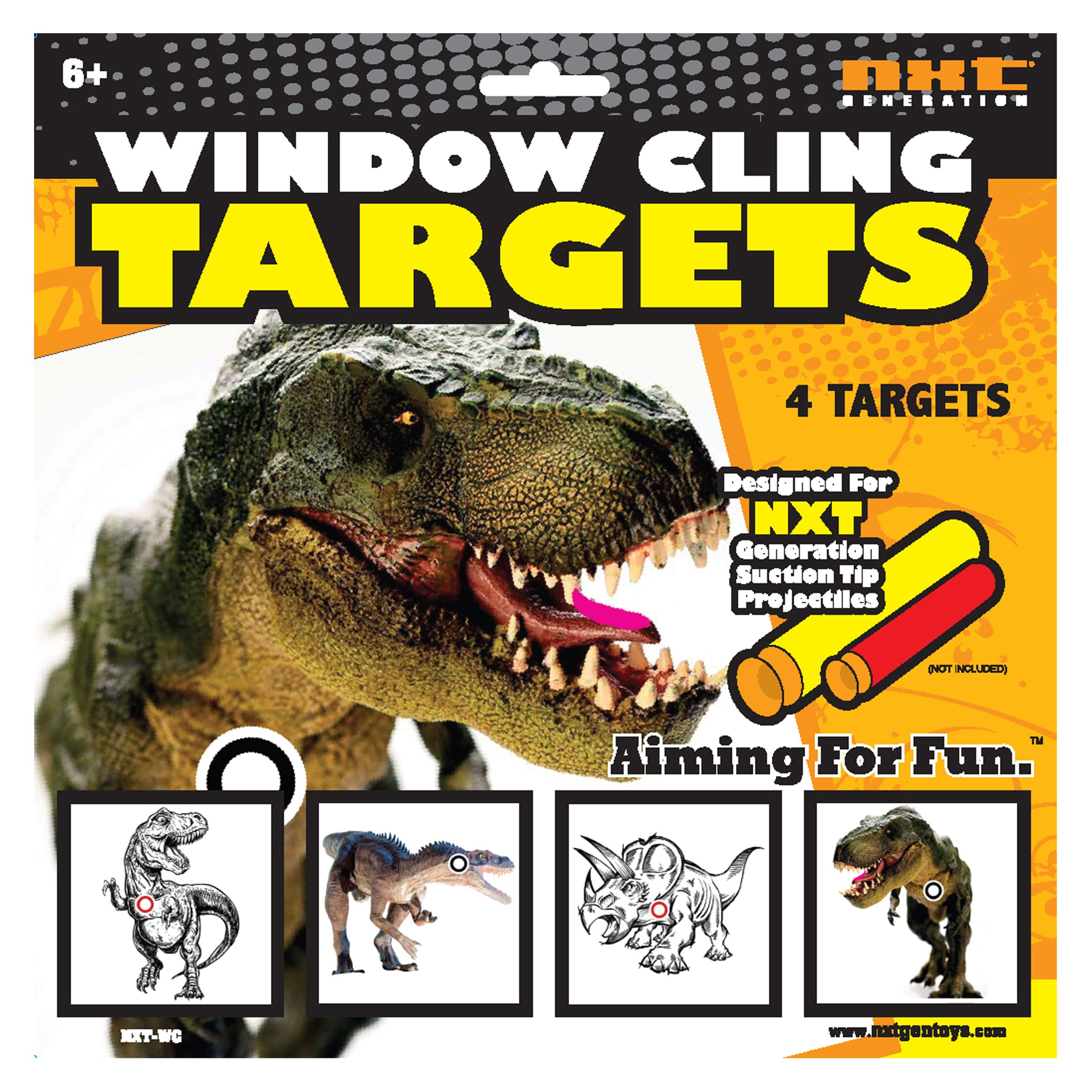 NXT Generation Dino Window Cling Target (1)