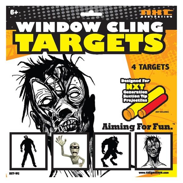 NXT Generation Zombie Window Cling Target
