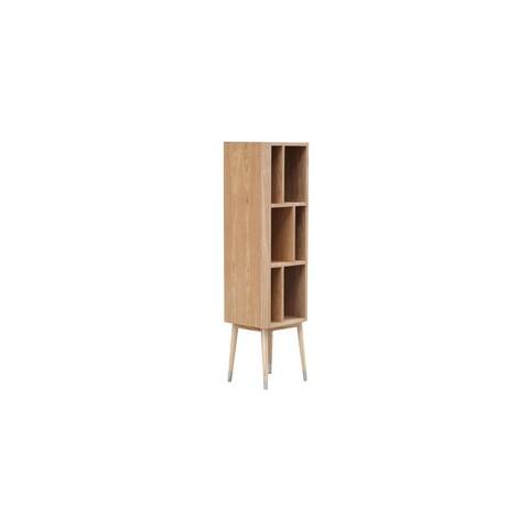 Kardiel Elroy Ash Wood Mid-century Vertical Cabinet/Bookcase