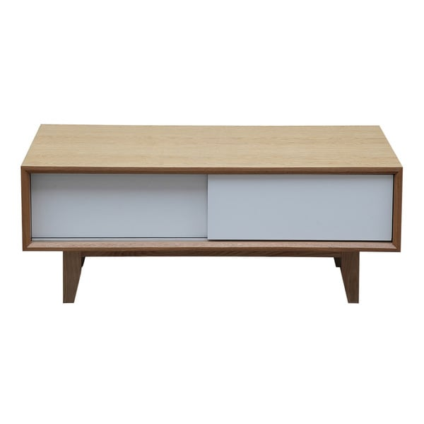 Shop Kardiel Porter Brown Wood Modern Coffee Table /Media