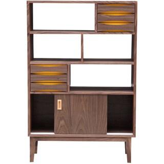 Kardiel Vodder 4-Tier Upright Cabinet/ Bookcase