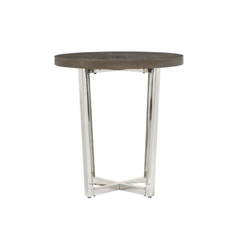 Dorchester Brown Wood End Table