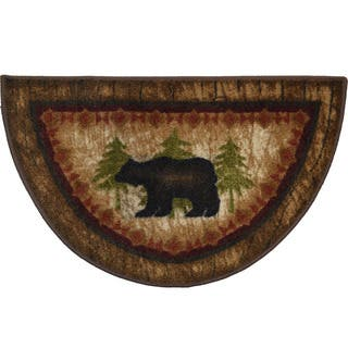 Hearth Rug Wildlife Fireplace Lodge Cabin Moose 26 Quot X 38
