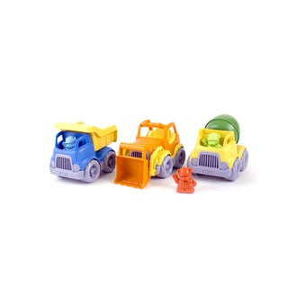 Green Toys Construction Vehicle Set - 3 Pack