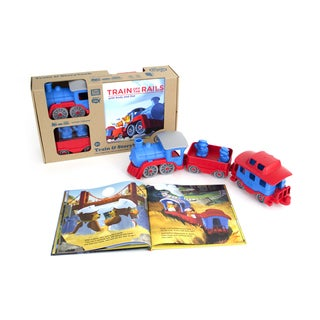 Green Toys Storybook and Train Set