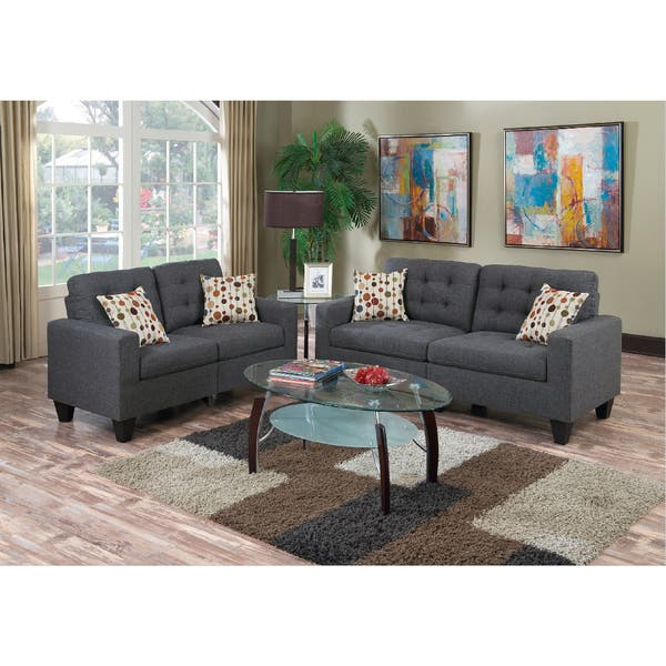 Superb Shop Kayla Sofa And Loveseat Set Free Shipping Today Gamerscity Chair Design For Home Gamerscityorg