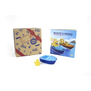 Green Toys Recycled Plastic Storybook and Launch Boat Set