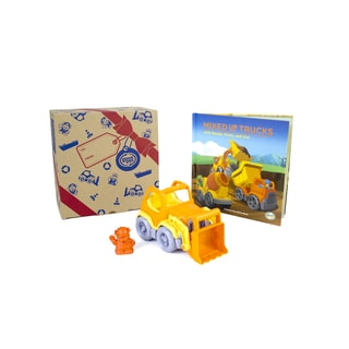 Green Toys Recycled Plastic Storybook and Scooper Book Set
