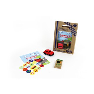 Green Toys Vehicles Coloring and Activity Kit