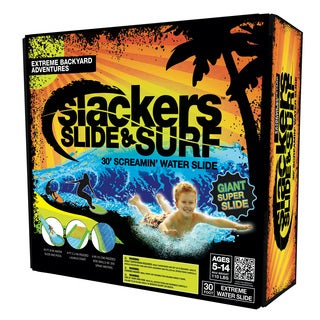 Slackers Slide & Surf Vinyl 30' Screamin' Water Slide