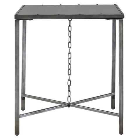 Eliston Grey Wood End Table
