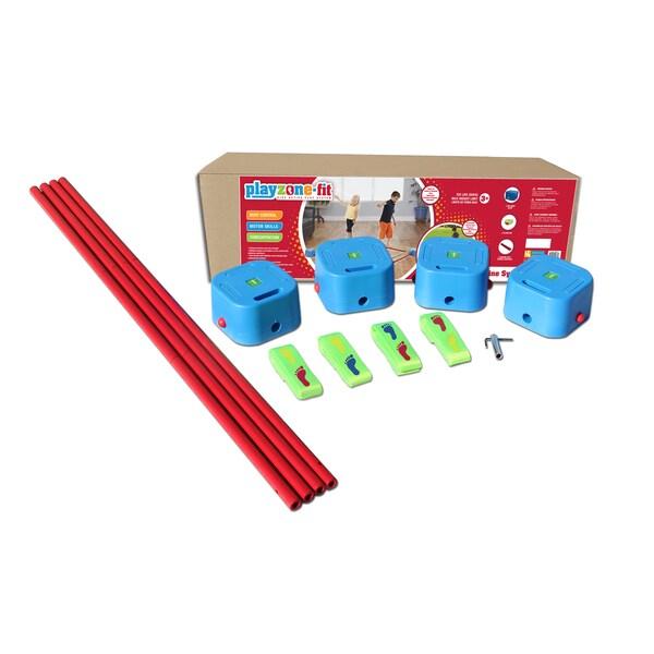 Playzone-fIt Balance Blox Slackline Quad Toy