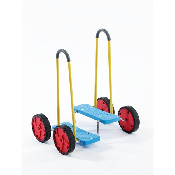 Playzone-Fit Multicolor Wheel Walker