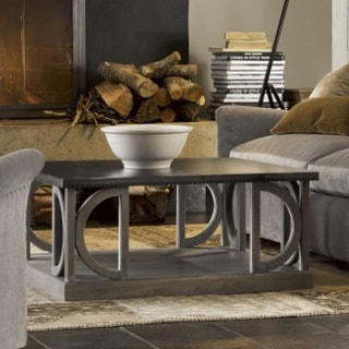 Carlton Grey Wood Cocktail Table