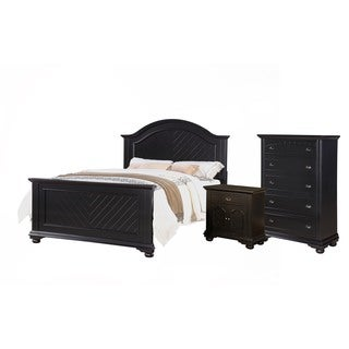 Picket House Addison Black Queen 3PC Set