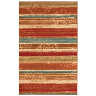 Mohawk Home Soho Mumbai Rainbow Multi Area Rug (5' x 7')