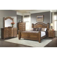 Picket House Furnishings Barrow King Poster 6PC Bedroom Set