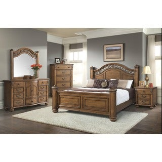 Amazing Picket House Furnishings Barrow King Poster 6PC Bedroom Set