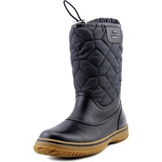 Coach Women's Sparrow Black Synthetic/Rubber Boots