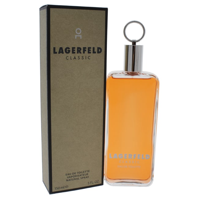 Karl Lagerfeld Classic for Men Eau de Toilette Spray, 5 O...