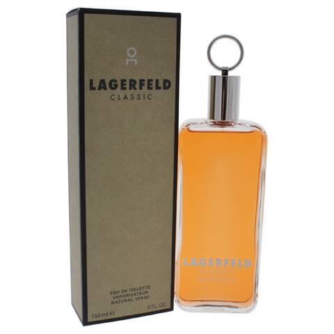 Karl Lagerfeld Classic Men's 5-ounce Eau de Toilette Spray