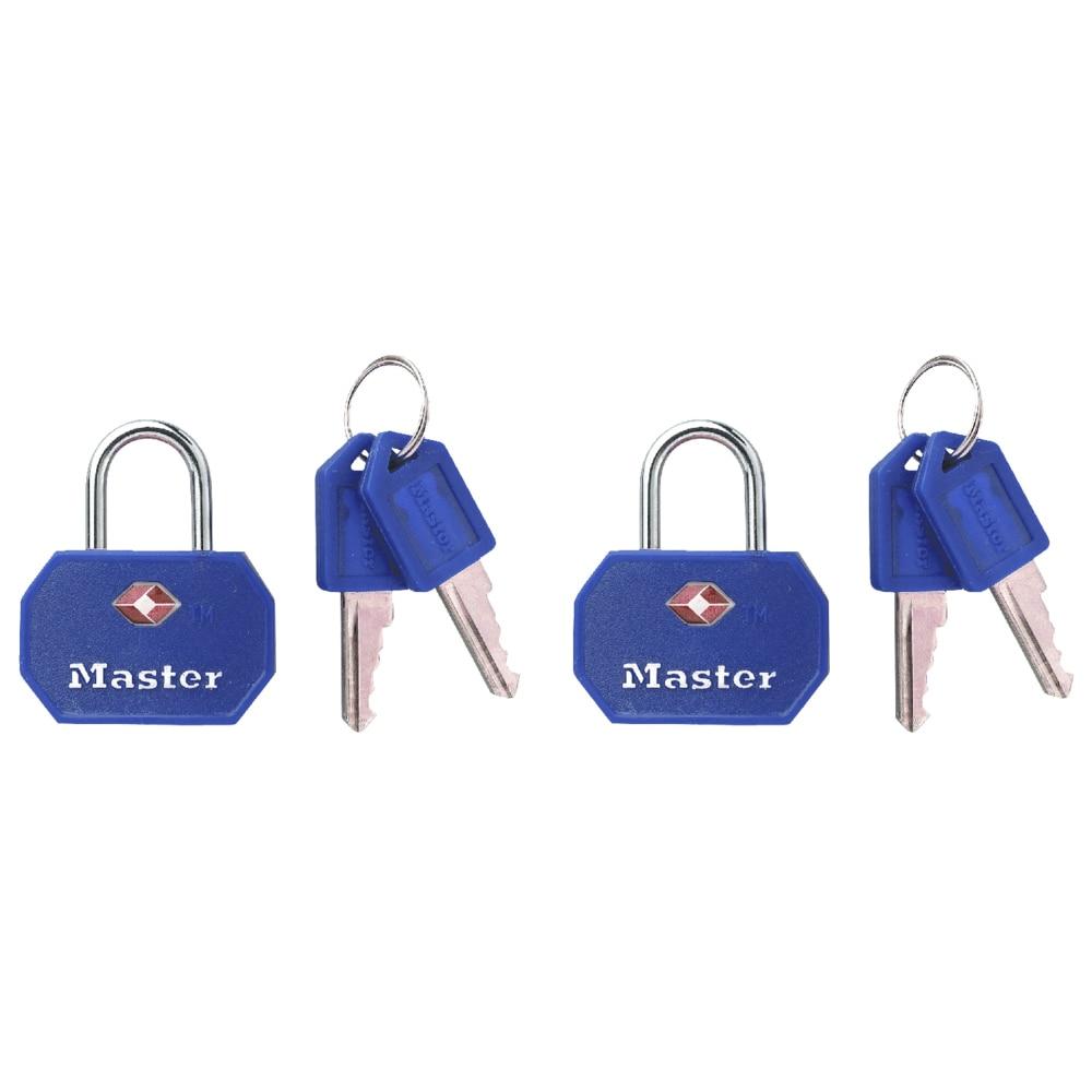 Master Lock 4681TBLR Master Lock Luggage Lock Assorted Co...