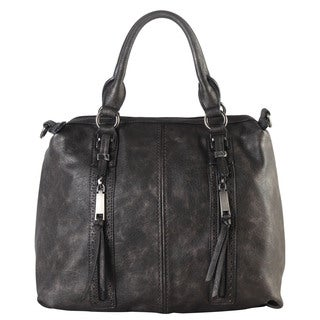 Diophy Double Front Pockets Doctor Tote Handbag
