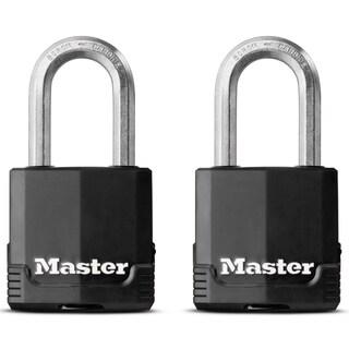 """Master Lock M115XTLFHC 1-3/4"""" Magnum Padlock 2-count"""