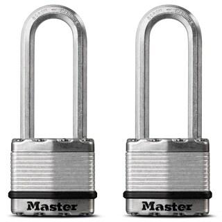 """Master Lock M1XTLJHC 1-3/4"""" Magnum Padlock 2-count"""