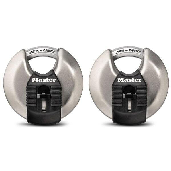 """Master Lock M40XTHC 2-3/4"""" Magnum Disc Lock 2-count"""
