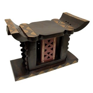 Hand-crafted King's Stool (Ghana)