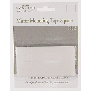 Home Decor 20-8220 Mirror Mounting Tape Squares